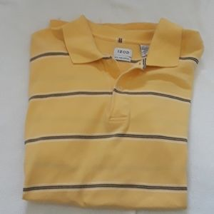 Men's Yellow Izod Polo